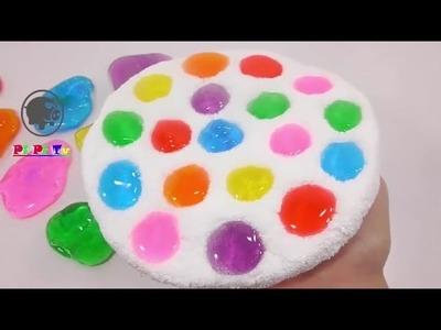 Cómo Hacer Que Caiga Agua Del Arco Iris Jalea slime, plastilina - Juguetes De Bebes - Diy Espanol