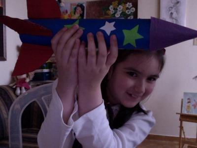 Cómo hacer un Cohete Espacial con Cartón