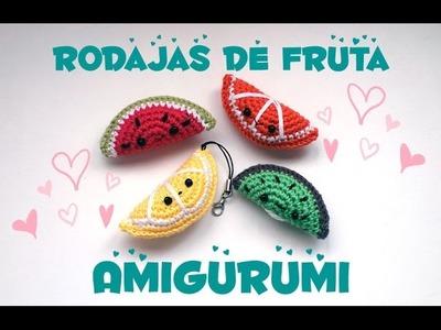 FRUTAS AMIGURUMI PASO A PASO (AMIGURUMI FRUITS)