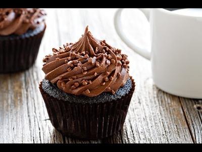 Los Cupcakes de chocolate más fáciles y ricos.