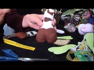 Muñecos Soft. vaquita porta cosméticos 2.3. proyecto 103