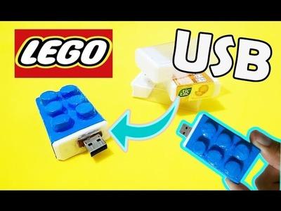 Personaliza tu USB  en forma de LEGO