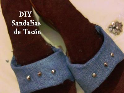 Renueva tus sandalias o zapatillas de tacón ! | DIY | HTM | quedarán como nuevas y de moda