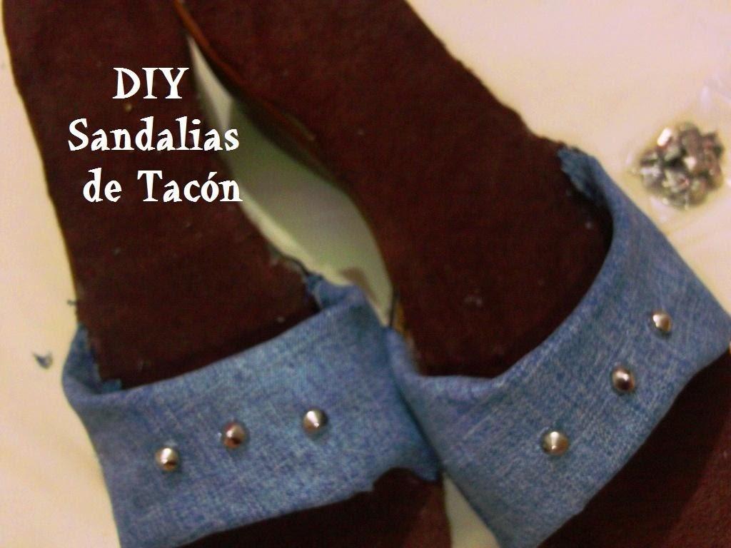 Renueva tus sandalias o zapatillas de tacón !   DIY   HTM   quedarán como nuevas y de moda
