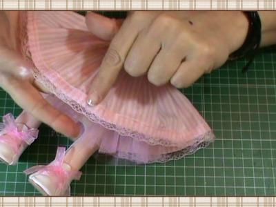 Tutorial muñeca rusa: Vestido