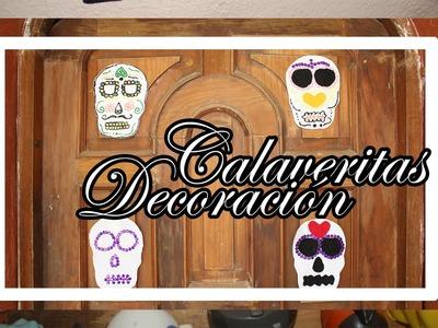 Calaveritas para día de muertos (Decoración) ¡Tradición Mexicana! | Tonatiuh Abarca