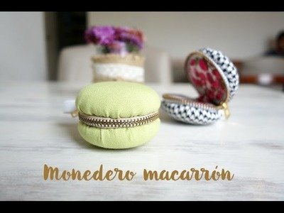 Cómo hacer un monedero en forma de macarrón - Macaron Coin Purse