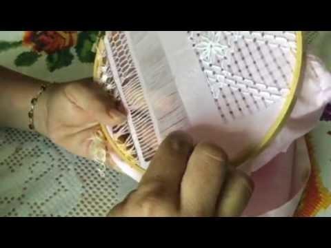 Cómo hacer vainitas con hilo de color