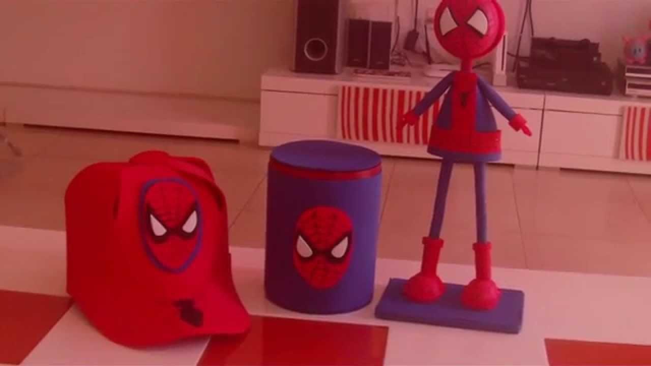 Gorra de Spiderman de goma eva