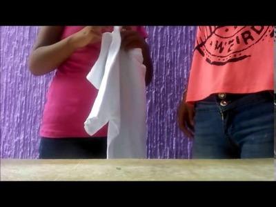 Tutorial de como reciclar  ropa vieja