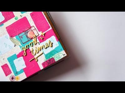 Amy Tangerine A5 álbum Good Times - scrapbook en español ✄ Dulce Scrap