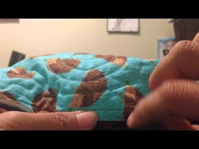 Binding (Ribete o Bies) en tu quilt.