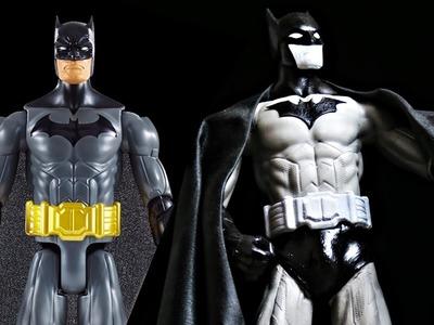 Cómo convertir un muñeco barato en figura de colección - Batman