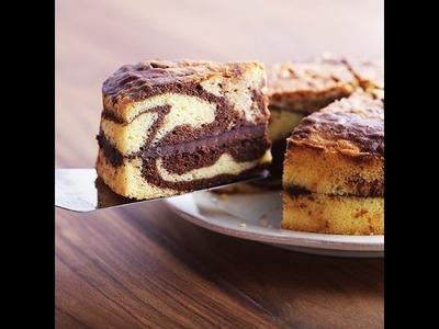 Cómo Hacer Pastel Marmolado De La Forma Mas Fácil ! - Madelin's Cakes