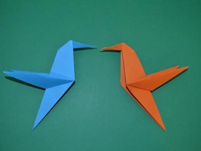 Como hacer un colibri de papel | Animales de papel