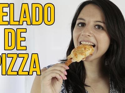 Cómo hacer un HELADO DE PIZZA casero (Experimentos Caseros)