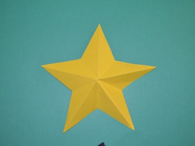 Como hacer una estrella de papel facil