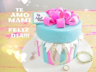 PASTEL CAJA DE REGALO- Gift box cake