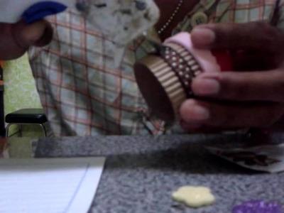 Plumas o lapiceros de cupcakes