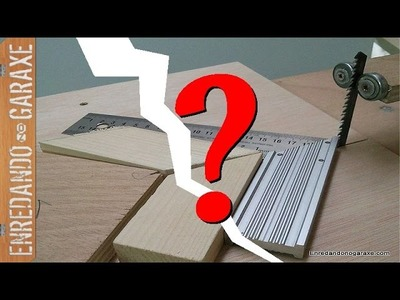 Problemas con la sierra de calar de mesa y cortes a 45 grados