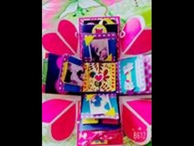 Regalo para mi enamorado. Gift for my boyfriend. Caja sorpresa. Exploding Box. DIY. HandMade