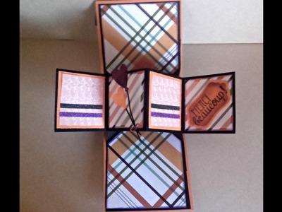 Serie de Tarjetas #1 : Pop up panel card