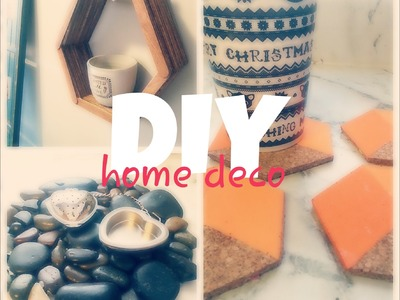 3 DIY PARA DECORAR. HOME DECOR FACILES Y BARATOS. DECORA TU CASA
