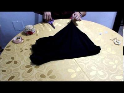 DIY Vestido Negro en 2O minutos