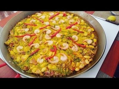PAELLA MIXTA EN CHILE  - Silvana Cocina ❤