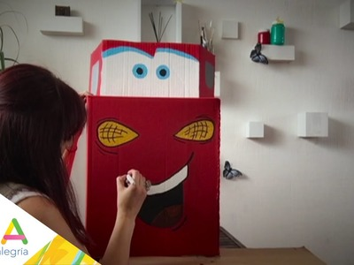 Chuladas Creativas | Coche de cartón