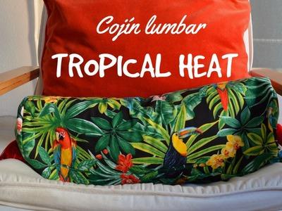 """Como hacer un cojín lumbar """"tropical heat"""" - Departamento de Ideas"""