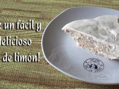 Como hacer un delicioso y fácil Pie de limón