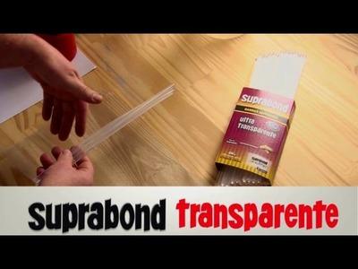 Cómo hacer una lámpara metalizada con Hotmelt Suprabond