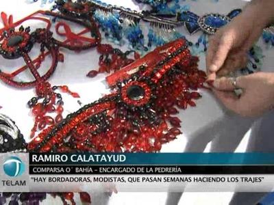 """""""El carnaval es un espectáculo que tiene artificio, pluma, carrozas y puesta en escena"""""""