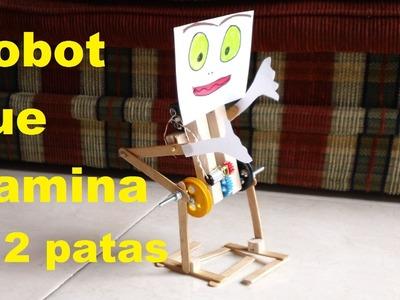 ✅ Robot Caminante en 2 patas ❗Fácil de hacer❗ walking robot