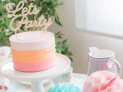 Tarta de Fiesta - Receta - María Lunarillos   tienda & blog