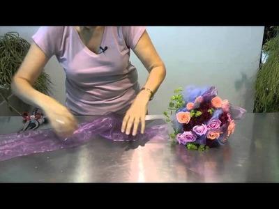 Bouquet floral compacto