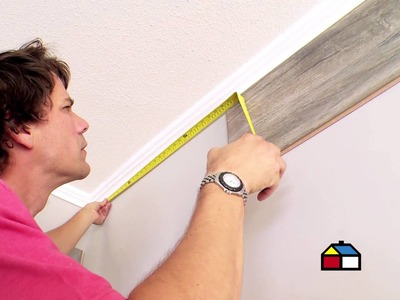 ¿Cómo remodelar un muro con revestimiento laminado?