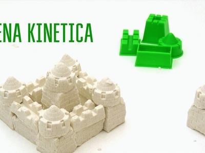 Como hacer ARENA KINETICA casera | Arena Cinética vs Super sand | Arena magica