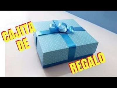 Como hacer cajita de regalo facil y rapido - Giany Fashion