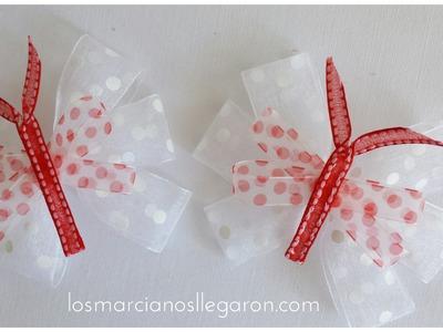 Cómo hacer moños en forma de mariposa para niñas | facilisimo.com
