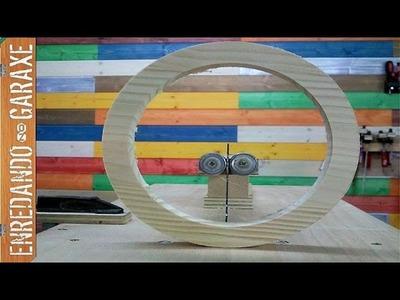 Cómo hacer un aro de madera