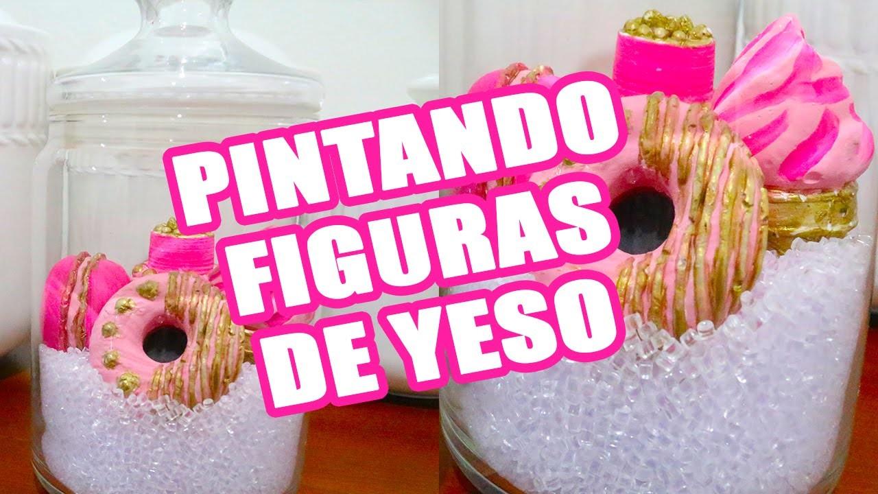 CÓMO PINTAR FIGURAS DE YESO | MRS LADYBUG