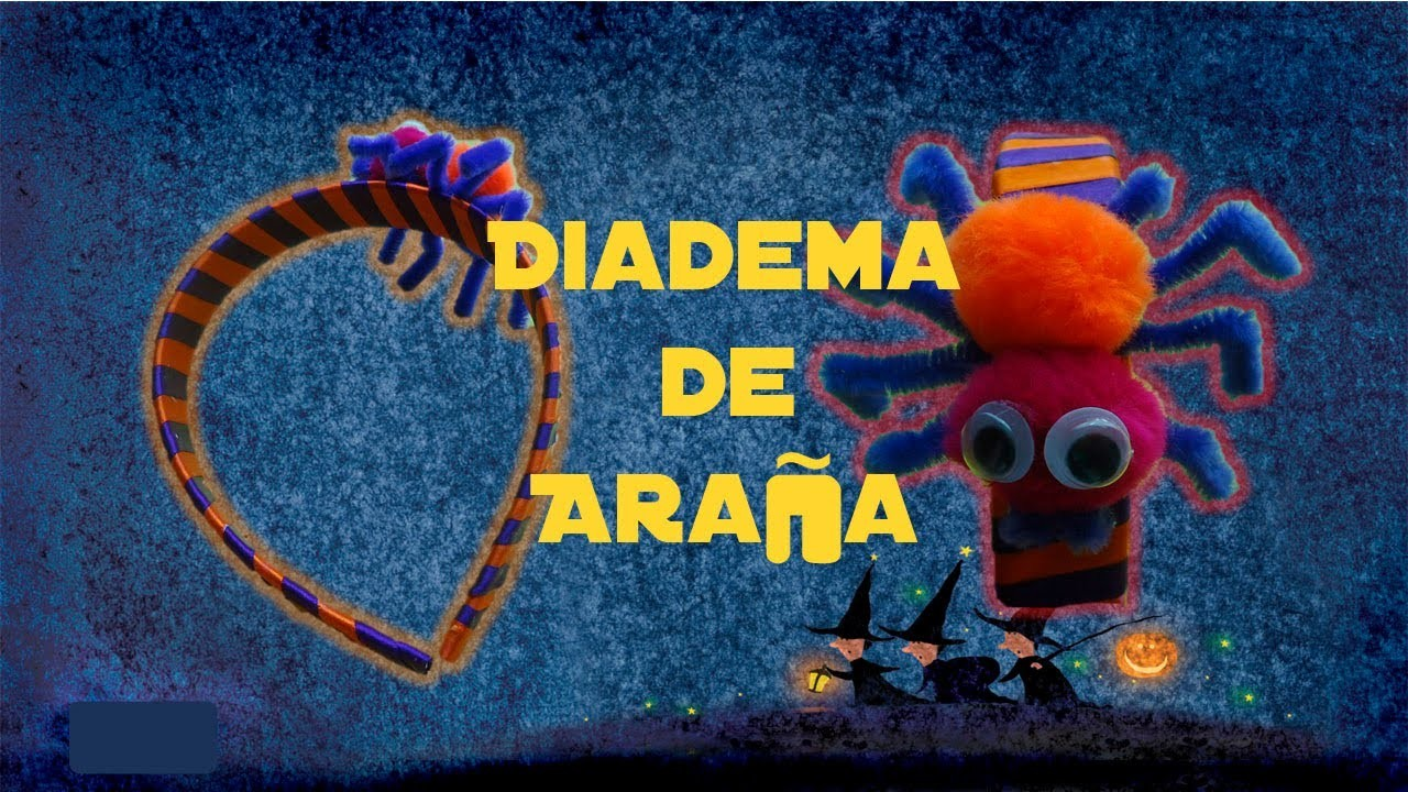 Diadema de Araña | Halloween | Accesorio | PumitaNegraArt