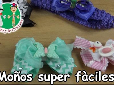 DIY Moños super fàciles (sin coser) -El Cuchillo y La Cuchara
