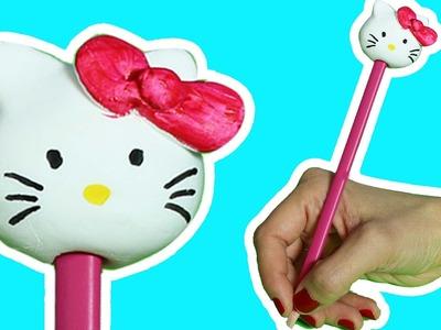Hello Kitty | Cómo Hacer un Adorno de Lápices | Boya Boya Pinta Pinta | Cómo Dibujar