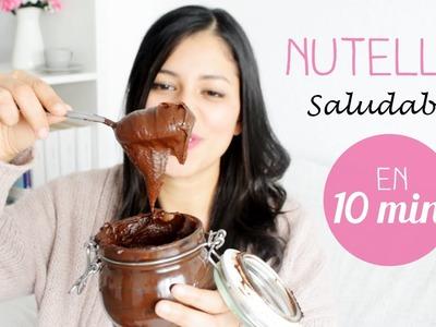 Nutella Saludable. mi Secreto para hacer la  Nutella más FIT del mundo