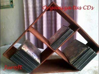 Organizador de CDs de Carton