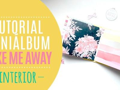Tutorial mini álbum carpesano - Páginas interiores