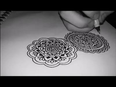 Zentangle Art -Mandalas! P.1